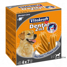 Vitakraft Dental 2in1 M multipack - 3 x (4 x 180 g) jutalomfalat kutyáknak