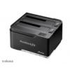 Akasa DuoDock X2 USB 3.0 Dual bay - fekete AK-DK06U3-BK