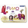 FIMO Gyurma készlet, 12x57 g, égethető, fém dobozban,