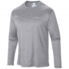 Columbia Zero Rules Long Sleeve Shirt Sport t-shirt D (1533282-o_039-Columbia Grey)