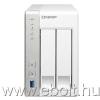 QNAP TS-231+ (NAS, 2HDD hely, SATA, CPU: 1,4GHz, RAM: 1 GB, 2x RJ-45, 3x USB3.0)