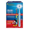 Braun Oral-B Professional Care 500 felnőtt elektromos fogkefe + D10 Mickey egeres gyermek elektromos fogkefe ()