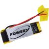 Powery Utángyártott akku Plantronics Explorer 330