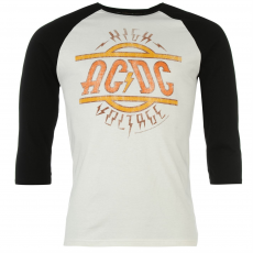 Official Póló Official ACDC Raglan fér.