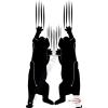 Fekete falmatrica - Állatos #7