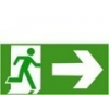 Menekülési út jobbra (TÁBLA)