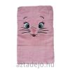 Cicás törölköző 70x140 cm rózsaszín