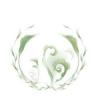 Virág zöld Wc fedél dekoráció
