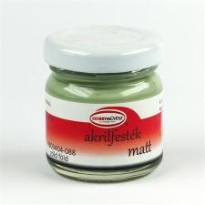 Akrilfesték, 40 ml, matt, zöld föld (HM4088) akrilfesték