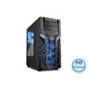 """Sharkoon DG7000 Window Black/Blue Black/Blue,2x5,25"""",3x3,5"""",3x2,5"""",ATX,2xUSB2.0,2xUSB3.0,Audio,Táp nélkül,470x210x470mm ,Ventillátor:3x14cm,Window"""