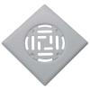 Padlóösszefolyó rács (padlórács) 15x15 fehér