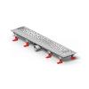 Mofém Linear zuhanyfolyóka szett D Drops ráccsal, MLP-850 D