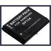 Samsung ES67 3.7V 1200mAh utángyártott Lithium-Ion kamera/fényképezőgép akku/akkumulátor