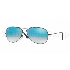 Ray-Ban COCKPIT RB3362 002/4O SHINY BLACK MIRROR GRADIENT BLUE napszemüveg