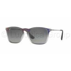 Ray-Ban CHRIS RB4187 622311 VIOLET SHOT ON BLACK GREY GRADIENT DARK GREY napszemüveg