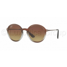 Ray-Ban RB4222 622413 BROWN SHOT ON BLACK BROWN GRADIENT DARK BROWN napszemüveg