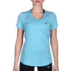 Asics fuzeX V-NECK SS TOP RUNNING (129975_8009)