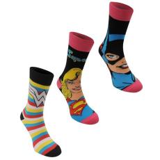DC Comics női zokni 3 pár /csomag