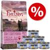 Purizon Cat Kitten próbacsomag: Purizon 400 g & Cosma Nature 6 x 70 g - Szett 2: csirke & tonhal