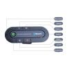 Bluetooth-os kihangosító, autóba építhető, 2 telefont tud kezelni