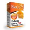 BioCo Kurkuma Kivonat 7500mg Tömjénfa Kivonattal tabletta 60 db