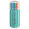 STABILO Rostirón készlet, 1 mm, türkiz tok, STABILO Pen 68 Zebrui, 20 különböző szín (TST682025)