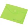 Irattartó tasak, A6, PP, patentos, PANTA PLAST, pasztell zöld (INP410005204)