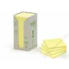 3M POSTIT Öntapadó jegyzettömb, 76x76 mm, 100 lap, környezetbarát, 3M POSTIT, sárga (LPK6541T)