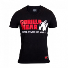 Gorilla Wear Utah V-Neck T-Shirt - Black