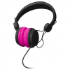 Delta Hands-Free Headset & Mic with Volume Control Call Answer (PINK) /PC