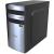 AIO Bohemian II Silicon fekete/ezüst mATX számítógép ház, táp nélkül