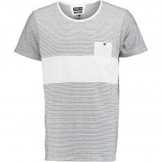 O'Neill LM STRIPED T-SHIRT D (O-602304-o_1030-Powder White)