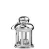 LIGHTHOUSE lámpás csillaggal ezüst 15cm