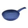 Perfect home 12575 Serpenyő tapadásmentes bevonattal kék márványos 22 cm