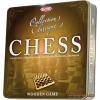 Tactic Klasszikus fa sakk, fém dobozban