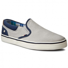 Wrangler Félcipő WRANGLER - Legend Slip On WM161011 Lt. Grey 54