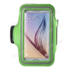 SPORT tok / karpánt - ZÖLD - SAMSUNG SM-G920 Galaxy S6 / SAMSUNG SM-G925F Galaxy S6 Edge
