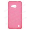 Szilikon védõ tok / hátlap - FLEXI - PIROS - MICROSOFT Lumia 550
