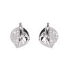 Ezüst fülbevaló cirkóniával (ES689)