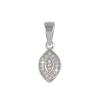 Ezüst medál cirkóniával (ES997)