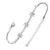 Ezüst karkötő cirkóniával (ES1211)
