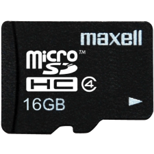 Maxell MicroSDHC 16GB kártya memóriakártya