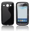 Samsung Galaxy Core i8260, TPU szilikon tok, S-Line, fekete