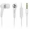 Headset, Samsung EHS44, felvevőgombos, sztereó, fehér, gyári