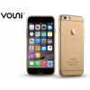 Apple iPhone 6 / 6S, TPU szilikon tok, Vouni Naked, arany