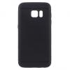 Samsung Galaxy S7 SM-G930, TPU szilikon tok, lyukacsos minta, fekete