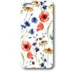 Sony Xperia Z5, TPU szilikon tok, virág minta, fehér, No.34