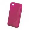 HTC Desire 200, TPU szilikon tok, S-Line, pink