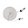 Adatkábel, Micro USB, 3 méter, fehér