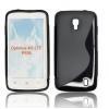 LG Optimus True HD P936, TPU szilikon tok, S-Line, fekete